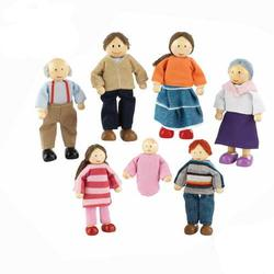 Kidkraft 65202 Doll Family of 7 - Caucasian