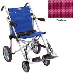 Convaid EZ12 900860-903467 EZ Rider 10 Degree Fixed Tilt Special Needs Stroller - Raspberry
