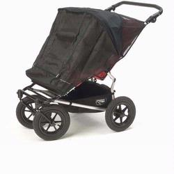 Mountain Buggy 100-335 Sasha's Kiddies Sun Cover for Mountain Buggy, Grey, Double