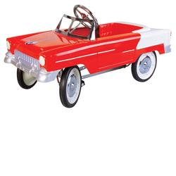 Charm Company 82318 55 Classic Red Metal Pedal Car