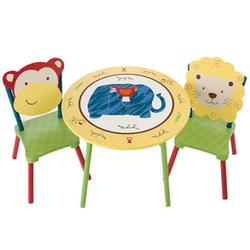 Levels of Discovery LOD70202 Jungle Jingle  Table & 2 Chairs set