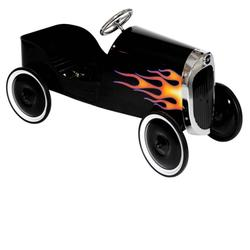 Charm Company 82323 34 Classic Black Hot Rod Metal Pedal Car