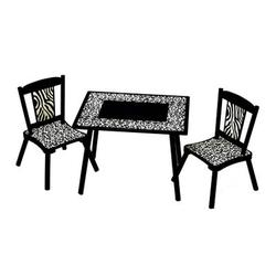Levels of Discovery LOD71002 Wild Side Table & 2 Chair Set
