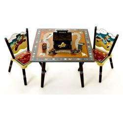 Levels of Discovery LOD72002 Wild West Table & 2 Chair Set