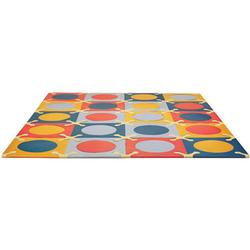 Skip Hop 242003 Playspot Interlocking Foam Tiles - Brights