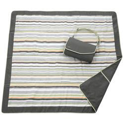 JJ Cole 5 Ft x 5 Ft Blanket - Gray/Green