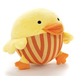 Skip Hop 307005 Funky Farmyard Toys - Chime Ball Duck Picture