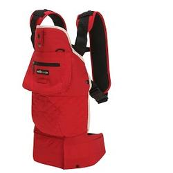 Lillebaby L2113 EveryWear Style - Red Haute Momma- Red/Cream