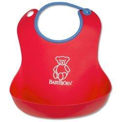 Baby Bjorn 046005US Soft Bib - Red
