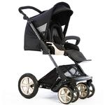 Zooper SL350BZP0905, Elite Line Flamenco Stroller - Rich Black