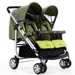 Zooper SL808GZP0910 Everyday Line Tango Stroller - Olive Waves