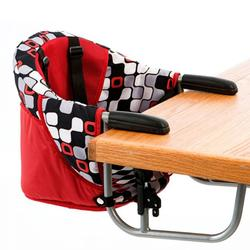 Zooper HC920DZP0918, Hook-On High Chair - Red Checkers