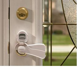 KidCo S353 Door Lever Lock - White