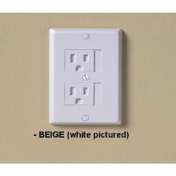 KidCo  S205-3 Universal Outlet Cover - 3 Pk - Beige