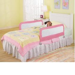 Summer Infant  12145 Sure&Secure™ Double Bedrail - Pink