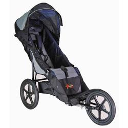Adaptive Star Axiom 2 16'IOM-2-04N Special Needs Push Chair, Blue-Gray With Free Sheerling Insert and Flashing Light Kit