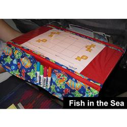 The Kids TRAYblecloth and Activity Center - Fish in the Sea