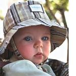 Kokopax s03 Savannah Baby Sun Hat 6-12 mos - Sailor