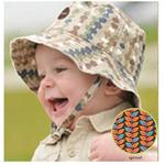 Kokopax s07 Eco Baby Sun Hat 6-12 mos - Sprout