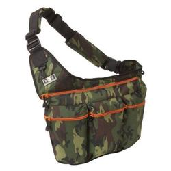 Diaper Dude 102 CAMOUFLAGE / ORANGE ZIPPER