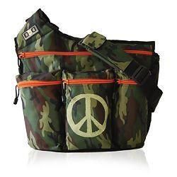 Diaper Dude 102P CAMOUFLAGE PEACE BAG