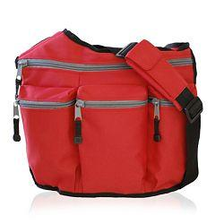 Diaper Dude 103 RED DIAPER BAG