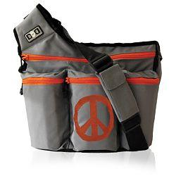 Diaper Dude 400P GREY PEACE BAG