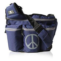 Diaper Dude 500P NAVY PEACE BAG