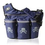 Diaper Dude 500S NAVY SKULL & CROSS BONE BAG