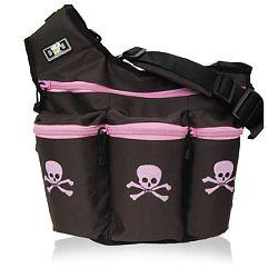 Diaper Dude 800S BROWN/PK SKULL