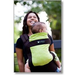 Sleepy Wrap Boba Organic Carrier - Pine {dark brown/green}