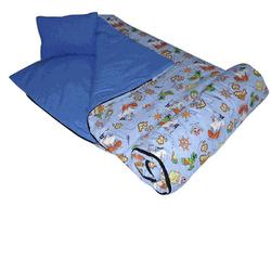 Wildkin 17035 Pirates Sleeping Bag