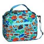 Wildkin 18017 Tropical Fish Lunch Bag
