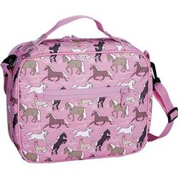 Wildkin 18020 Horses in Pink Lunch Bag