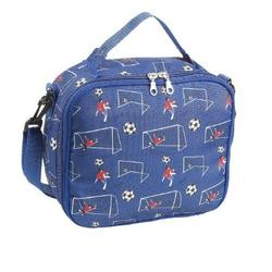 Wildkin 18029 Boy Soccer Lunch Bag