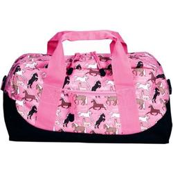 Wildkin 25020 Horses in Pink Duffel Bag
