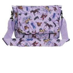 Wildkin 27018 English Riding (purple) Messenger Bag