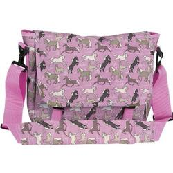 Wildkin 27020 Horses in Pink Messenger Bag