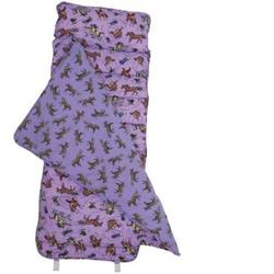 Wildkin 28018 English Riding (purple) Nap Mat