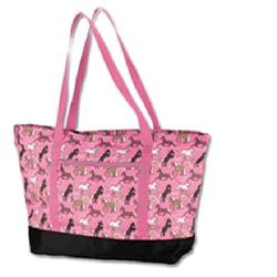 Wildkin 29020 Horses in Pink Tote Bag