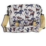 Wildkin 30025 Horse Dreams Messenger Bag LARGE White