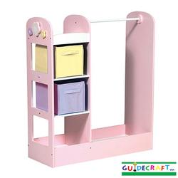 GuideCraft G98103 See and Store Dress Up Center-Pastel