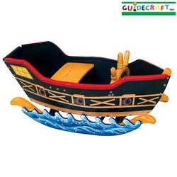 Guidecraft G51101 Retro Rocker Pirate Ship