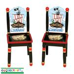 Guidecraft 83703 Pirate Extra Chairs (Set of 2)