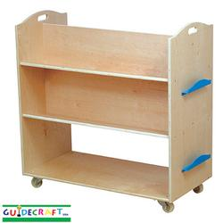 Guidecraft 6412 School Library Cart