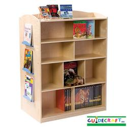 Guidecraft 97018 Double-Sided Bookcase
