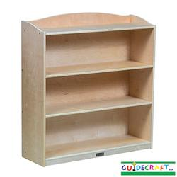 "Guidecraft 97013 Single-Sided Bookcase - 36"" H"