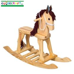 Guidecraft 83451 Natural Rocking Horse Picture