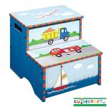 Guidecraft 85306 Transportation Storage Step-Up