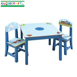 Guidecraft 85302 Transportation Table & Chair Set